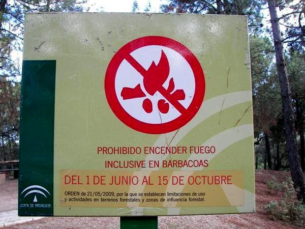 La Junta de Andalucía prohíbe las barbacoas del 1 de junio al 15 de octubre