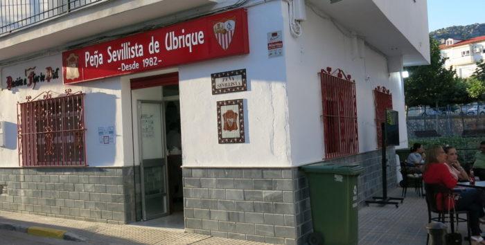 Nueva sede de la Peña Sevillista de Ubrique.
