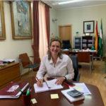 La alcaldesa, Isabel Gómez García (Foto: Radio Ubrique).