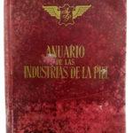 Donado al Museo de la Piel el Anuario de la industria de la piel de 1958, donde constan 46 talleres de marroquinería en Ubrique