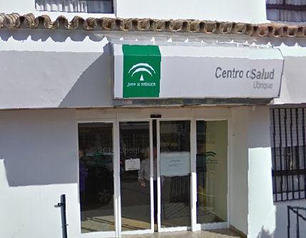Centro de Salud de Ubrique.