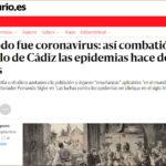 Reportaje de elDiario.es sobre <i>Las luchas contra las epidemias en Ubrique en el siglo XIX</i>