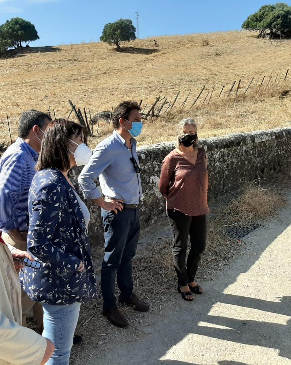 La Junta se compromete a rehabilitar el puente del Realejo y a restaurar el cauce de la Garganta Barrida