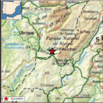 Mapa del terremoto (Instituto Geográfico Nacional).