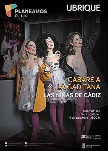 Cabaré a la gaditana: espectáculo de Las Niñas de Cádiz, a escena el 4 de diciembre