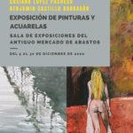 Exposición de pinturas y acuarelas de Casiano López Pacheco y Benjamín Castillo Barragán