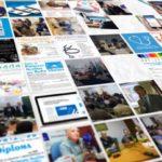 Carteles y folletos del Observatorio de Salud.