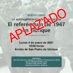 Aplazada la presentación del opúsculo sobre el referéndum franquista de 1947 en Ubrique, de Antonio Morales Benítez