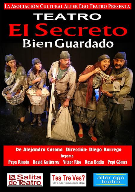 El director de Alter Ego Teatro, Diego Borrego, anuncia nuevas representaciones de <i>El secreto bien guardado</i>