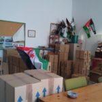 Alimentos recaudados en Ubrique para el pueblo saharaui.