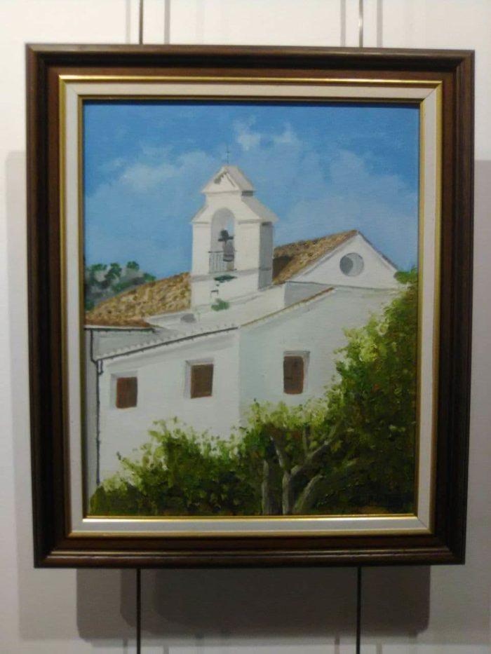 Uno de los cuadros de la exposición.