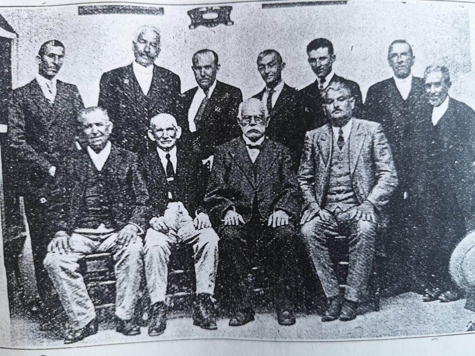 Miembros de la Sociedad Cultural.