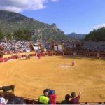 Público asistente a una corrida de toros en Ubrique.