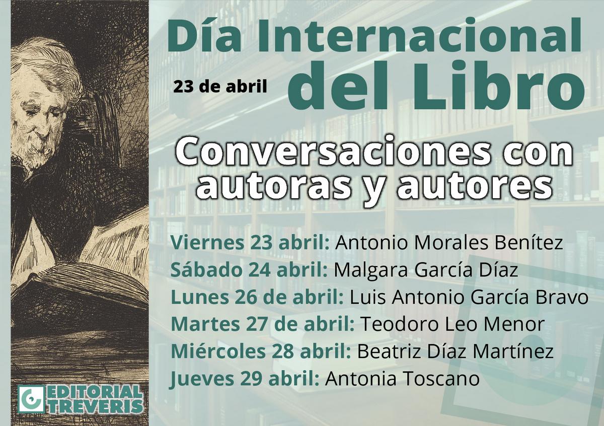 Cartel del Día del Libro.