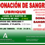 Llamamiento para la donación de sangre.