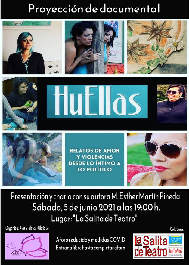 La Salita de Teatro reanuda su actividad con la proyección del documental <i>Huellas</i>, con presencia de la autora