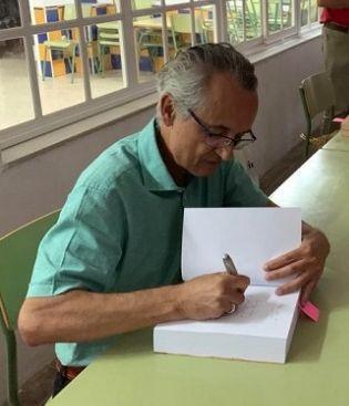 Rafael Ramos firmará ejemplares de su novela <i>El clan de Sâleh</i> en la Feria del Libro de Bornos