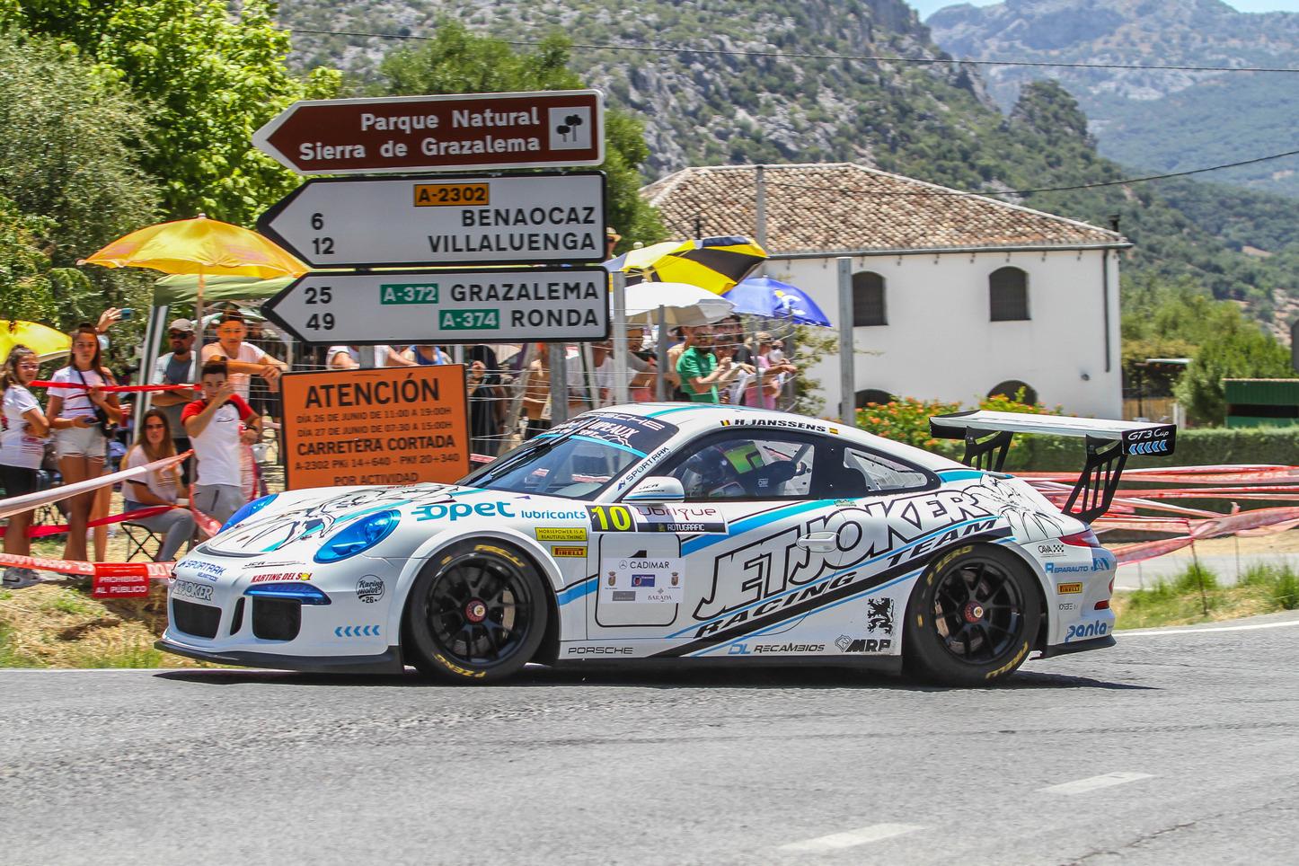 Humberto Janssens suma una nueva victoria en el campeonato andaluz de montaña en la XXV Subida Ubrique-Benaocaz