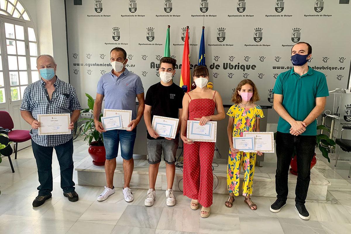 Entregados los premios del concurso de cuentos y relatos de la Delegación de Participación Ciudadana