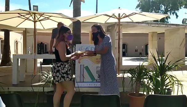 María Lobato González gana el certamen literario de la Feria del Libro de Cádiz en la sección de cuento juvenil