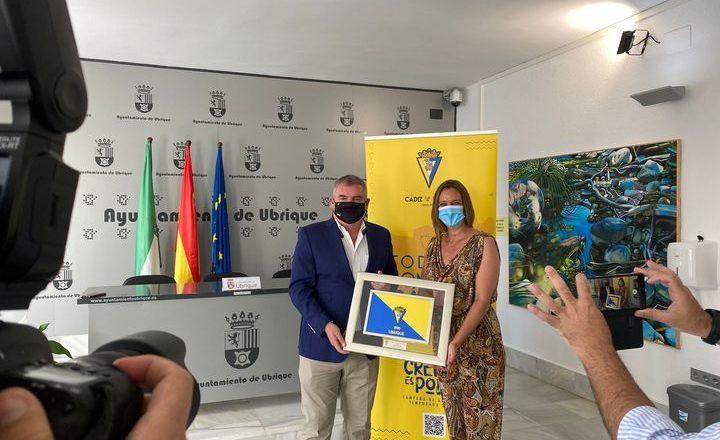 El municipio refuerza lazos de colaboración con el Cádiz CF