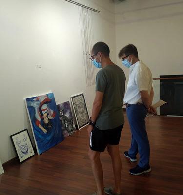 El primer premio juvenil del certamen de pintura Villa de Ubrique, para Andrea Peralta Puerto