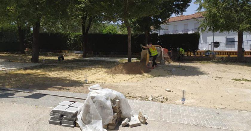Obras de mantenimiento en los colegios durante el verano