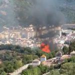Incendio en los Olivares