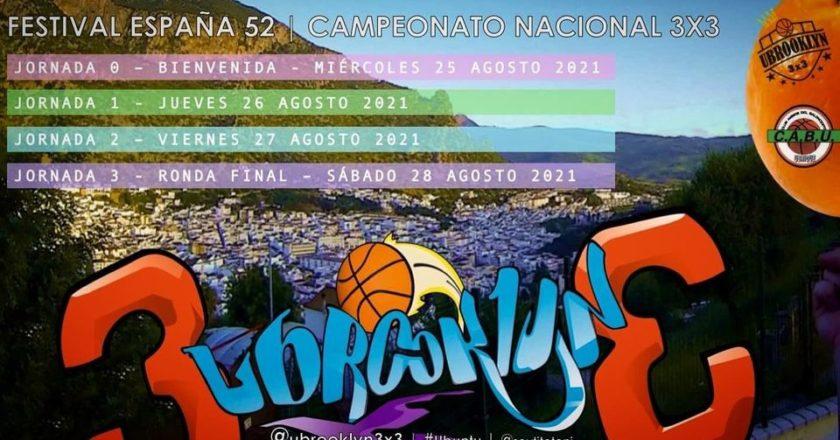 Festival <i>España 52</i>: campeonato nacional 3×3