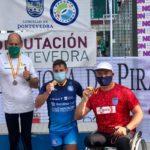 Tres platas y un bronce para Antonio J. Gómez en sprint olímpico de piragüismo